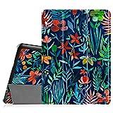 Fintie Hülle für Samsung Galaxy Tab S2 9.7 T810N / T815N / T813N / T819N 24,6 cm (9,7 Zoll) Tablet-PC - Ultra Schlank Ständer Cover Schutzhülle mit Auto Schlaf/Wach Funktion, Dschungelnacht