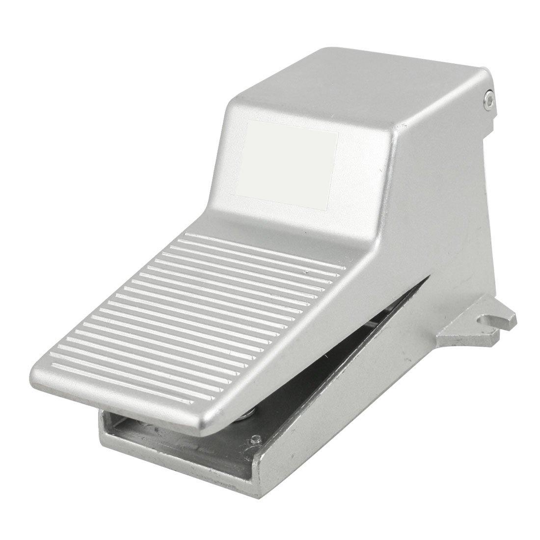 sourcingmap® Posición 2 de 3 vías momentáneo neumática industrial pedal interruptor de la válvula de aire: Amazon.es: Coche y moto