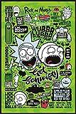 Rick and Morty - Póster (61 x 91,5 cm), diseño de cita de Rick and Morty