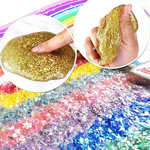 ESSENSON DIY Unicorn Slime Making Kit 53 Pieces Set.. 2 in 1 Slime Supplies