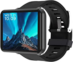 giokfine 3+32GB Smart Watch Men Women 4G Smartwatch for Android 7.1 with 5MP Camera 2700 mAh Smart Watch GPS Fitness Bracelet (Black(3+32GB))