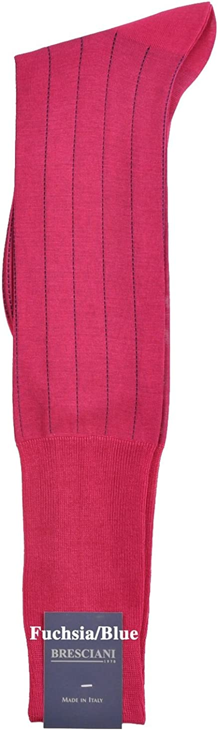 One Pair Ultrafine Cotton Over-the-Calf Socks Pinstripe Dress Max 40% OFF Very popular