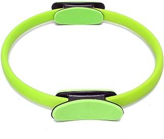 DF-FR Portable Taille 38CM Yoga Anneau De R/ésistance L/éger Minceur Cercle Magique Cuisses Jambes R/ésistance Yoga Anneau Outil De Formation Couleur: Rose