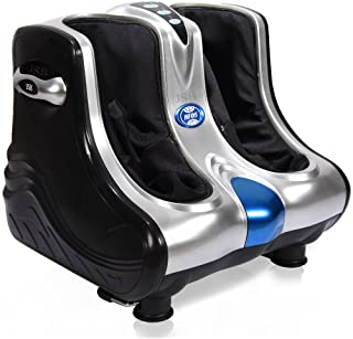 JSB HF05 Leg Foot Massager with Reflexology Vibration Plate for Quick Pain Relief