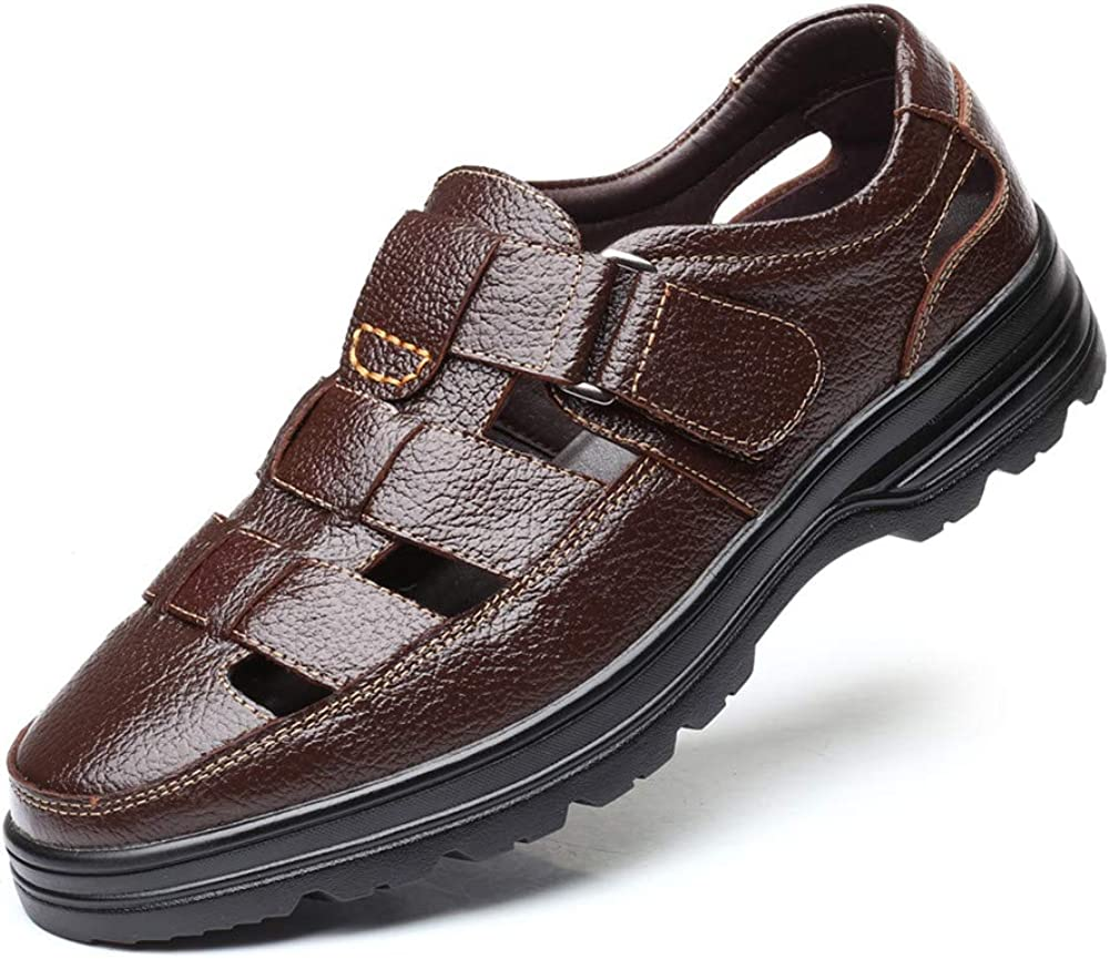 Men Business Working Office Sandals Synthe Summer Man NEW before selling Fresno Mall Breathable