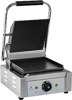 Royal Catering Machine À Panini Grill Appareil Toaster Croque-Monsieur Professionnel Professionnelle RCKG-1800-F (30-300 °...
