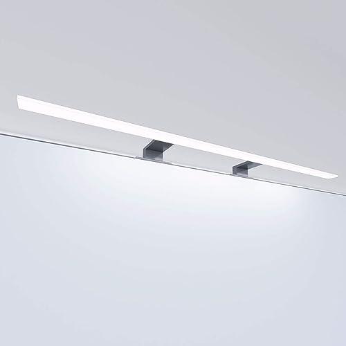 Luminaire LED de salle de bain lampe de miroir éclairage de meuble applique, température de couleur: blanc lumière d...