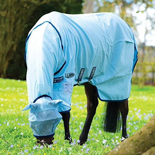 Horseware Rambo Sweetitch Hoody Vamoose Ekzemerdecke mit Gesichtsmaske Fliegendecke 140
