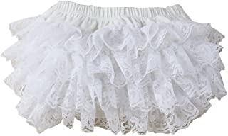 Ruffled Lace Baby Diaper Bloomer Covers for 0-24M