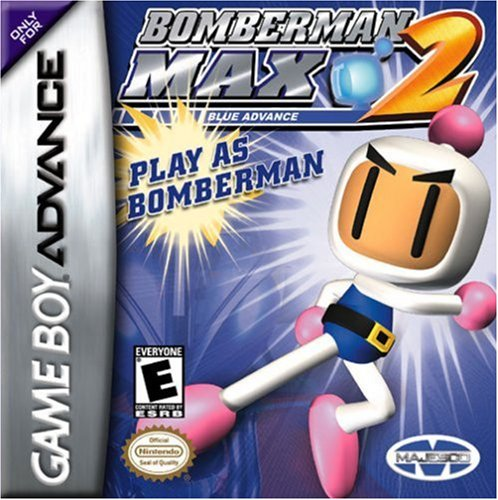 Bomberman Max 2 Blue