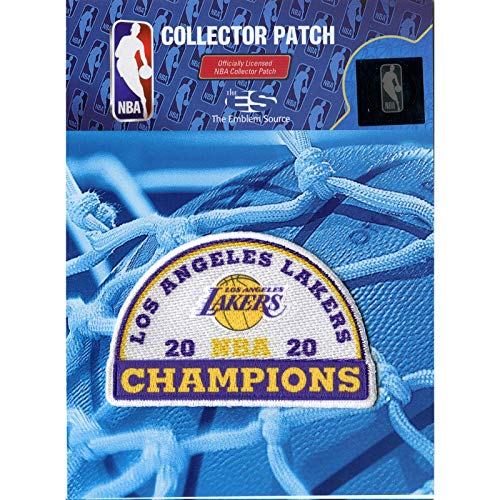 Emblem Source 2020 NBA Finals Champions Patch Jersey Los Angeles Lakers