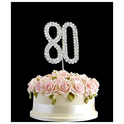 Pleasant 80Th Birthday Cake Decorations Amazon Co Uk Funny Birthday Cards Online Alyptdamsfinfo