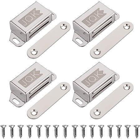 2 x MAGNETIC CATCHES Pair Cabinet Cupboard Wardrobe Door Lock Latch Magnet 60mm