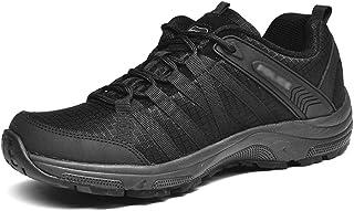 CGBF - Zapatos de escalada transpirables ligeros cómodos zapatos de senderismo con cordones para caminar zapatos de amorti...