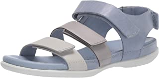 ايكو صندل فلاش ستراب للنساء, (Shadow White/Wild Dove/Dusty Grey), 35 EU