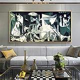 KWzEQ Impresiones de lienzos, Cuadros Famosos, Carteles e Impresiones de lienzos, decoración del hogar,Pintura sin Marco,45x101cm