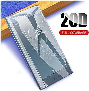 LZHANDA 3D-böjt heltäckande skärmskydd härdat glas för Sony Xperia XZ1 XZ2 Compact XZ3 X XA Ultra XA1 Plus XZ Premium för ...
