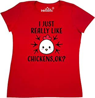 I Just Really Like Chickens Ok Women's T-Shirt