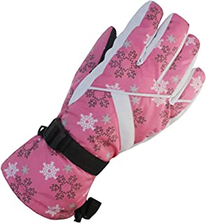 ACVIP Women's Water-proof Thickened Skiing Cold Weather Active Gloves