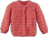 lupilu® Baby Mädchen Strickjacke aus 100% Bio-Baumwolle (Koralle, Gr. 62/68)