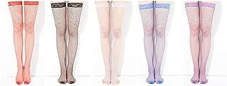 Refamaee Sexy Stockings Tights Fishnet Stockings 2pcs