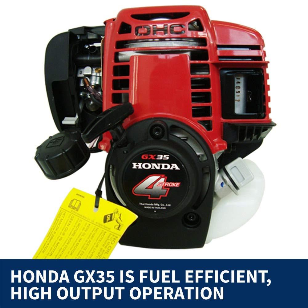 CHIKURA - Motor de Gasolina, 4 Tiempos, Motor de Gasolina, 4 Tiempos, para desbrozadora, Motor GX35, 35, 8 CC: Amazon.es: Jardín
