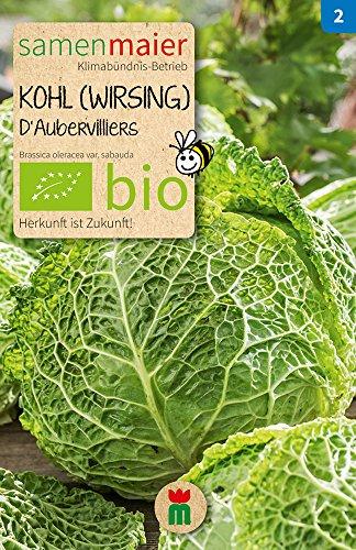 Samen Maier 886 Kohl (Wirsing) D'Aubervilliers (Bio-Kohlsamen)