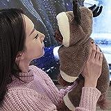 HZY Traje De Reno De Gato De Perro De Navidad Diseño De Ciervo Elk Ropa De Perro Disfraz De Mascota Jerseys De Perrito Abrigo De Abrigo,XL