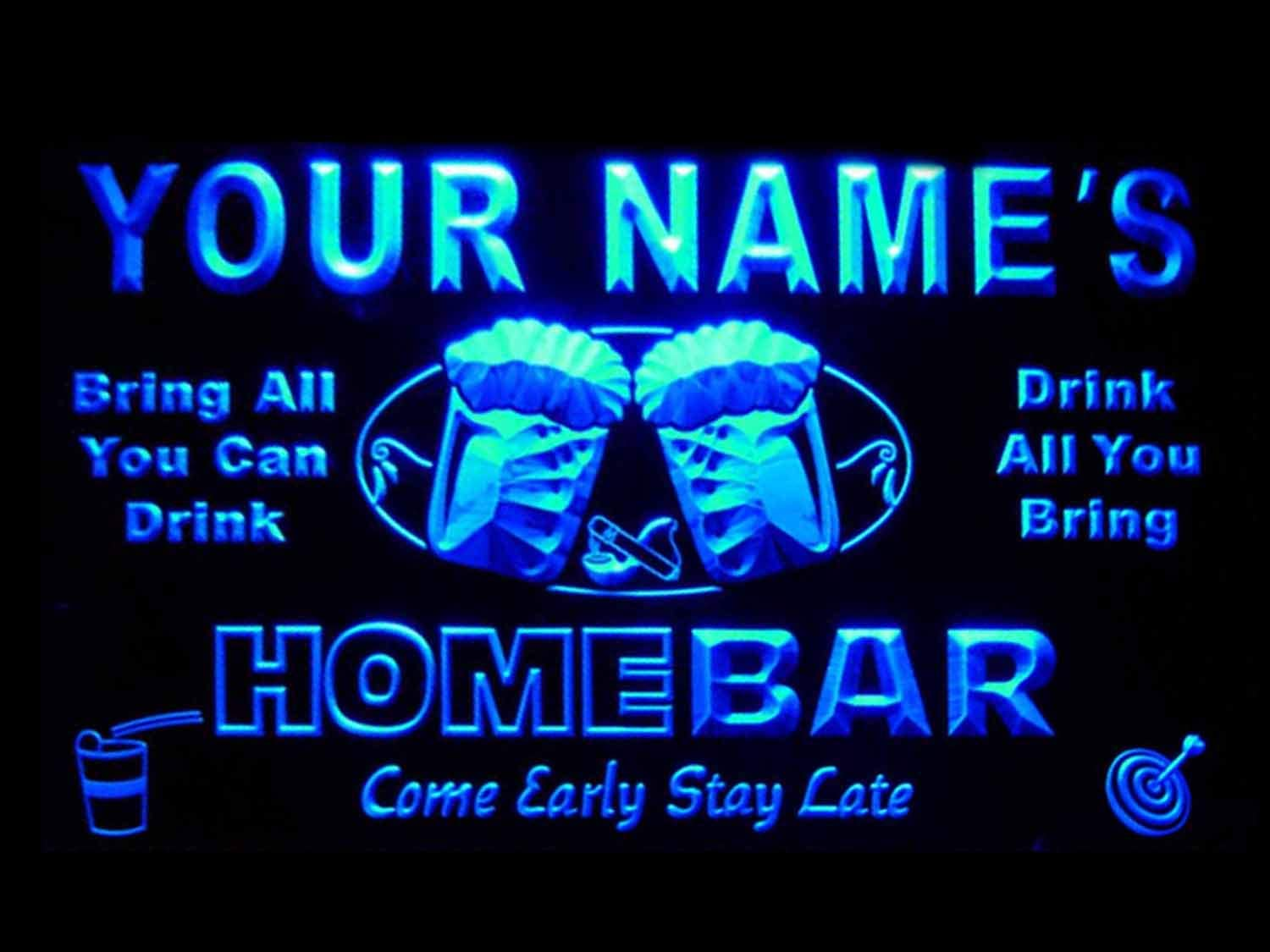 ADVPRO Max 79% OFF p-tm-b Name Max 42% OFF Personalized Custom Neon Bar Light Home Beer