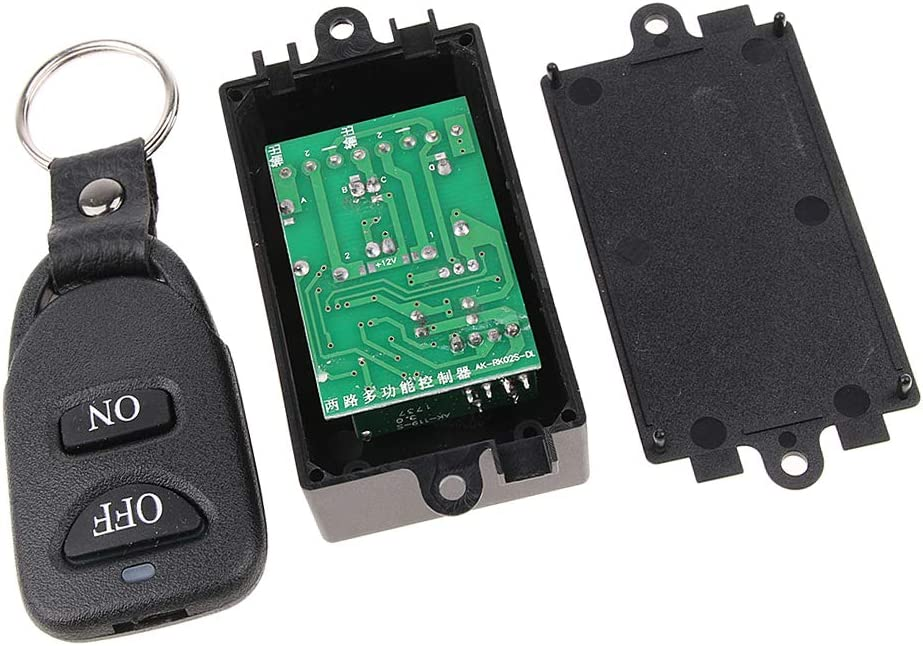 Dolity Online limited product Wireless Popular brand in the world 2-Buttom RF Remote for Control Switch Mot Module