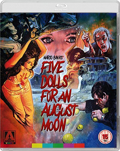 Five Dolls For An August Moon Dual Format [Blu-Ray + DVD] [UK Import]