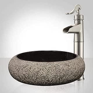 Best black marble vessel sink Reviews