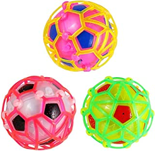 Lsmaa Electric Dancing Singing Bouncing Ball Colorful Socer Toy for Kids Christmas Birthday Gift Colorful Electric Flashin...
