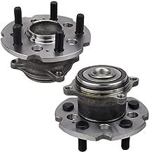 Bodeman - New Pair (2) Rear Wheel Hub & Bearing Assembly for 2009-2015 Honda Pilot FWD
