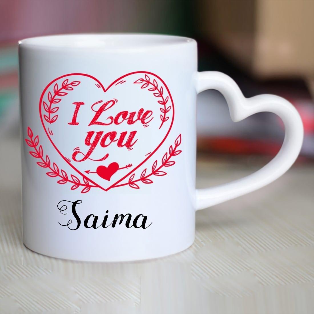 Buy Huppme I Love You Saima Heart ...