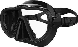 ماسک شیرجه غواصی Kraken Aquatics Snorkel Dive با دامن سیلیکون و تسمه مخصوص غواصی ، غرق کردن و آزادسازی