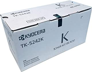 Kyocera 1T02R70US0 Model TK-5242K Black Toner Cartridge For use with Kyocera ECOSYS P5026cdN, P5026cdw and M5526cdw Printers; Up To 4000 Page Yield @ 5% Coverage