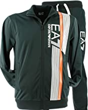 Emporio Armani EA7 Chándal Acetato Full Zip Big Logo Uni Hombre