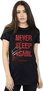 A Nightmare On Elm Street Women's Never Sleep Again Boyfriend Fit T-Shirt