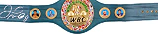 Icons of boxing Floyd Mayweather Jr. Signed Full-Size WBC Heavyweight Championship Belt (Beckett COA)