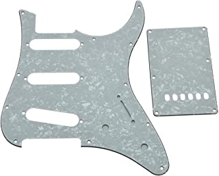 KAISH Guitar HSS Pickguard and Tremolo Cover fits Yamaha PACIFICA Guitar SSS Configuration White Pearl