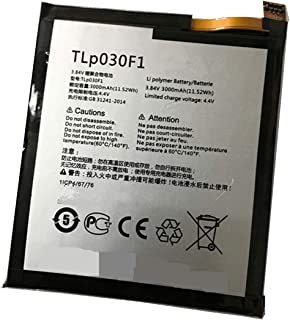 Aowe TLp030F2 Replacement Battery for Alcatel One Touch Idol 4S,OT-6070, BlackBerry DTEK60 TLp030F1 Vodafone Smart Platinum 7