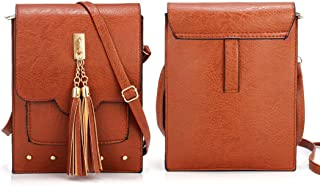 Menghao Bags Women Mobile Phone Bag Shoulder Bag Leather Phone Case for Travel iphone xs,Plus