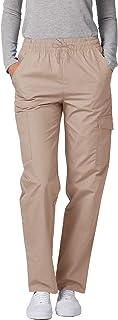 Adar Uniformes médicos para Mujer - Pantalón médico Cargo - 506 - Khaki - 5X