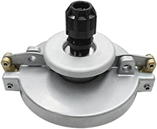 Double Wall Fill Swivel Adapter and EZ Gage 16 Center No Drain Cast Iron Lid EMCO WHEATON A1004-317GX Spill Containment 5 gal NPT 16 Center Fill Cap Poly Bellows Replaceable
