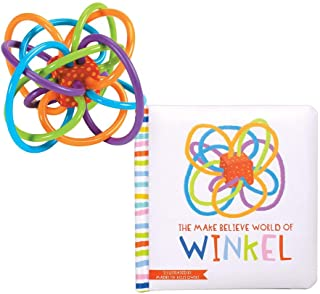 Manhattan Toy Winkel + The Make Believe World of Winkel Board Book