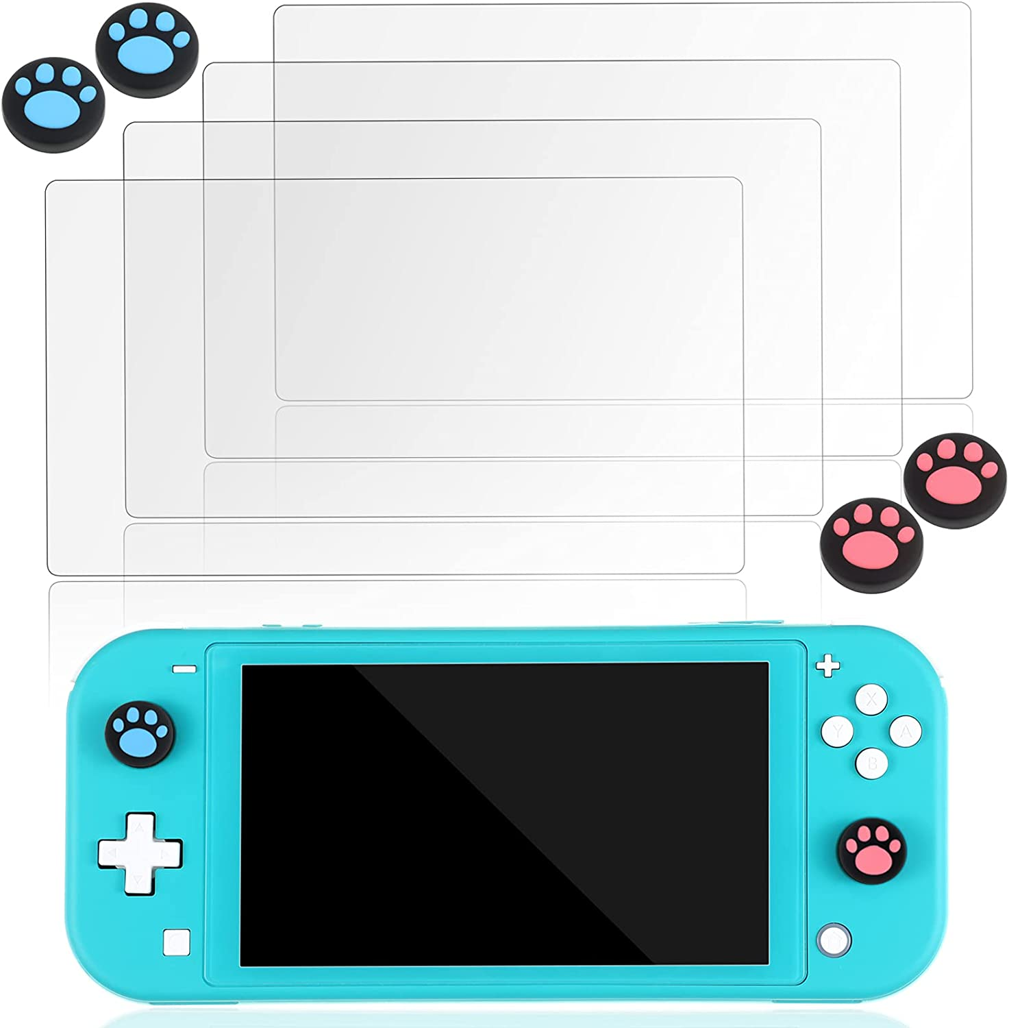 4 Pieces Glass Screen Baltimore Mall Protector Compatible Nintendo Switch with 2021 autumn and winter new