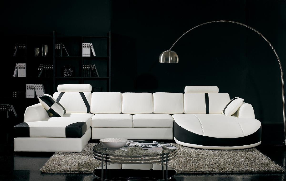 Vig Furniture T57B Ultra Modern Sectional Sofa