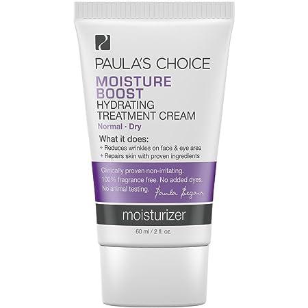 Paula's Choice MOISTURE BOOST Hydrating Treatment Cream, Niacinamide & Hyaluronic Acid, Face Moisturizer for Dry Skin, 2 Ounce