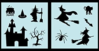 Party Decoration DIY Craft Halloween Witch Hat Unfinished Paper Mache Witch Hat 7 x 6 Inch Home Halloween Decor Set of 6